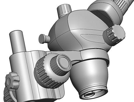 дизайн кожухов микроскопа