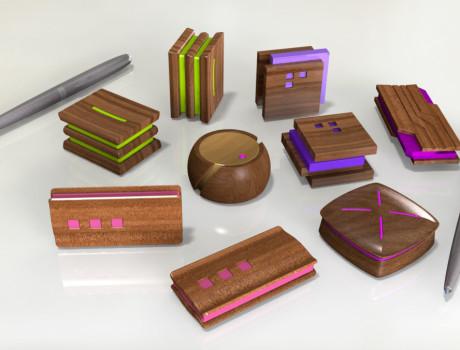 дизайн корпусов диктофонов из ценных пород дерева